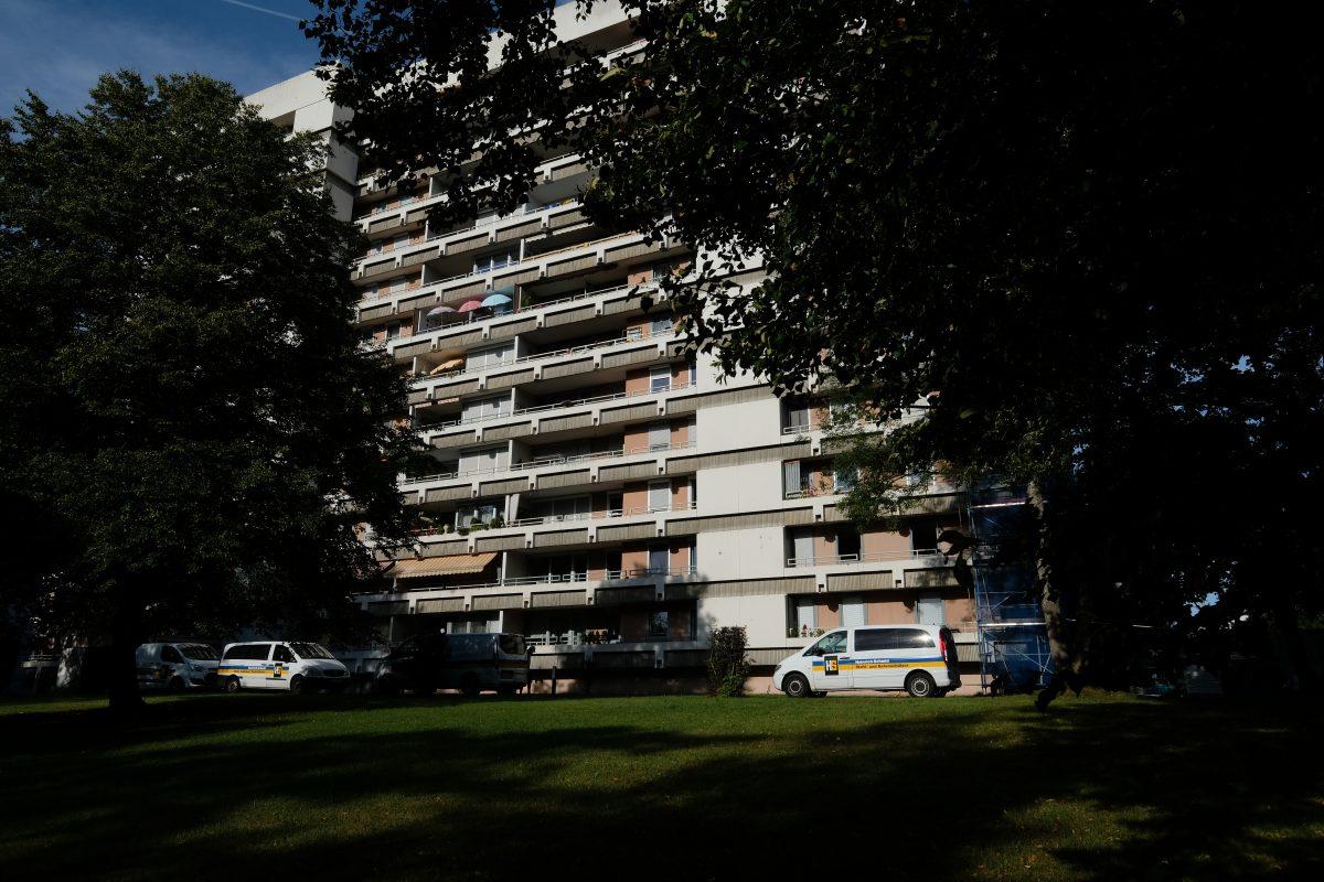 Sanierung Betonfassade Hochhaus Sindelfingen